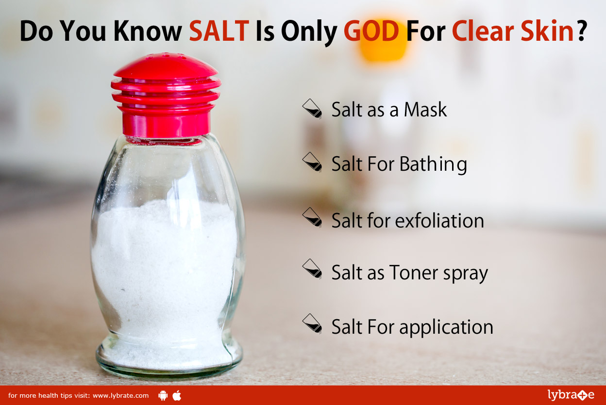 Do You Know Salt Is Only God For Clear Skin?